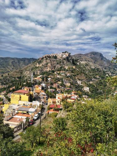 Taormina kilátás